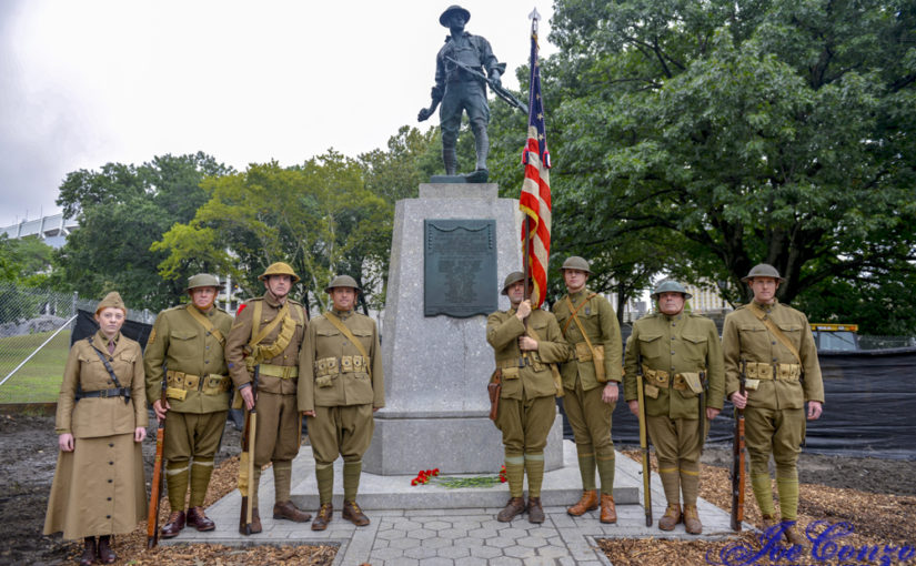 Honors at Highbridge Doughboy Rededication
