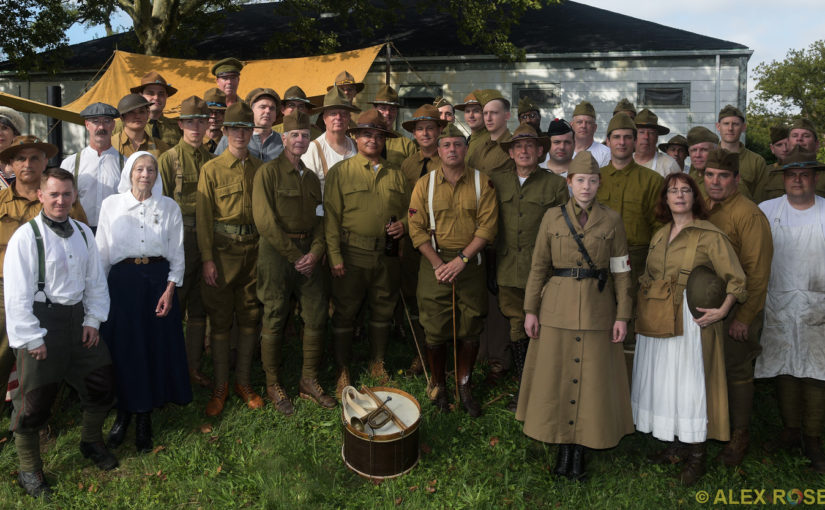 Photos from 2018 Camp Doughboy WWI History Weekend